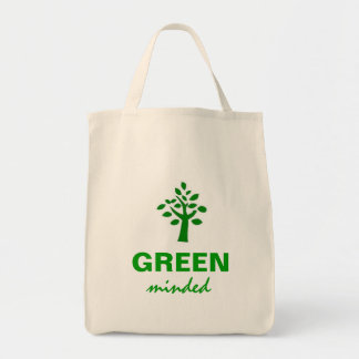 Green Minded Tote Bag