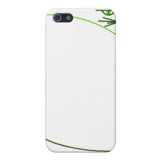 Green Minimalist Cat (Speck Case) iPhone SE/5/5s Cover