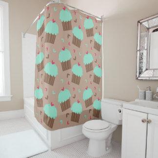 Mint Green Shower Curtain. Green Mint Cupcake Shower Curtain Curtains  Zazzle