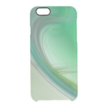 Green Mist Clear iPhone 6/6S Case