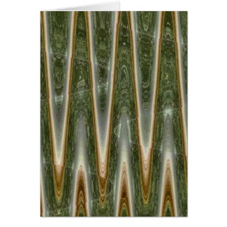 Green Mist Greeting Cards