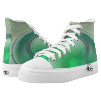 Green Mist High-Top Sneakers
