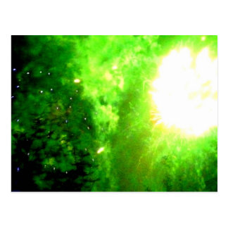 Green Mist Postkarte