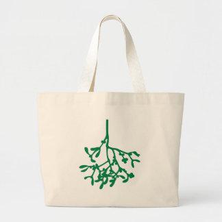 Green Mistletoe Bags