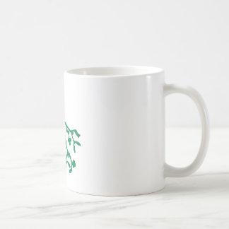 Green Mistletoe Mugs