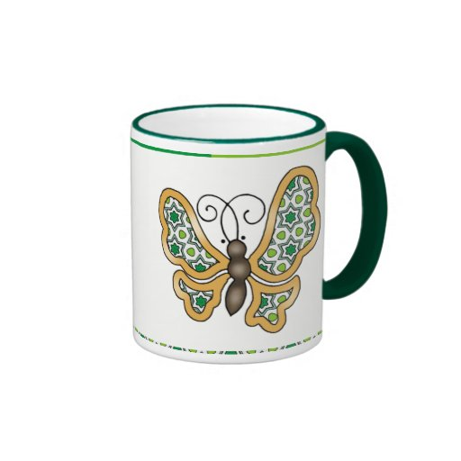 Green Mix & Match Collectables - 1 Coffee Mug