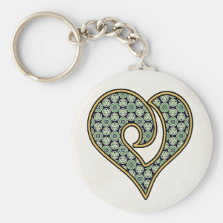 Green Mix & Match Collectables - 7 Key Chain