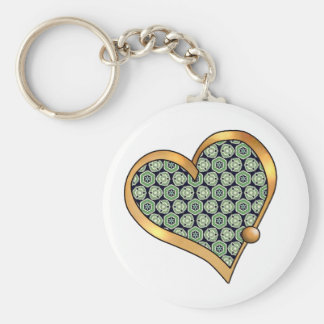 Green Mix & Match Collectables - 7 Keychains