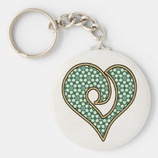 Green Mix & Match Collectables - 8 Keychain