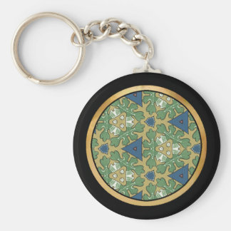 Green Mix & Match Collectables - 9 Key Chain