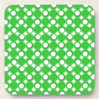 Green Mod Ball Design @ Emporio Moffa Beverage Coaster