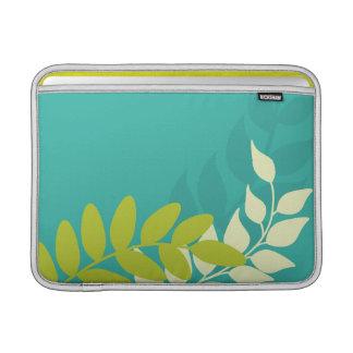 Green Mod Vines Macbook Air Sleeve