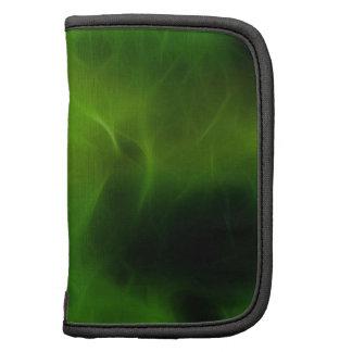 Green Modern Design Folio Planner