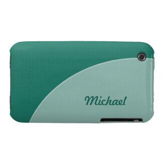 Green Modern iPhone 3 Case