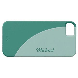 Green Modern iPhone SE/5/5s Case