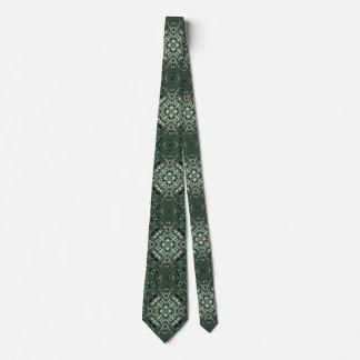Green modern nice pattern tie