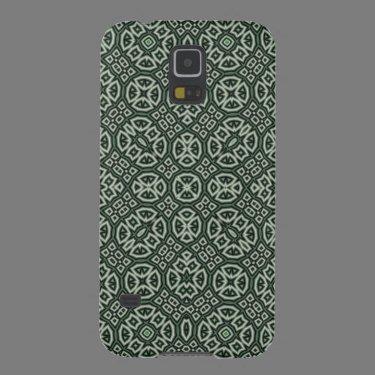 Green modern pattern galaxy s5 cases