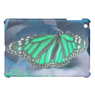Green Monarch Butterfly iPad Mini Cover
