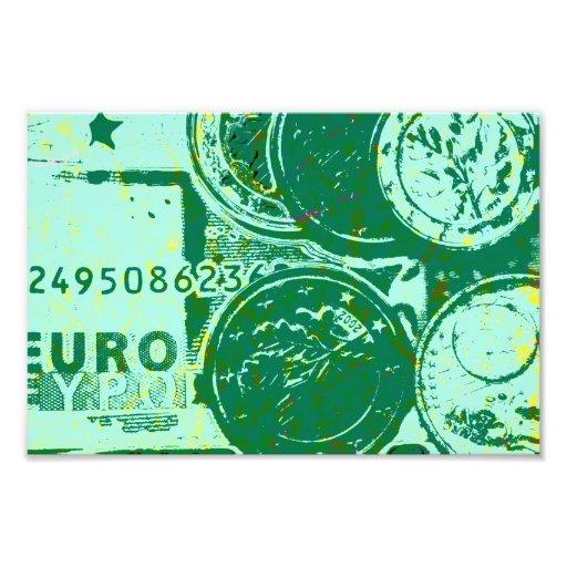 Green money photographic print