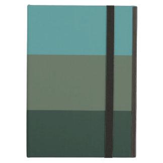 Green monochromatic iPad air case