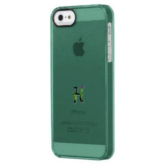 Green Monogram iPhone 5 Deflector Cover