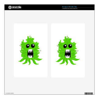 Green Monster Baby Apparel Kindle Fire Skin