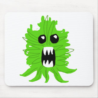 Green Monster Baby Apparel Mouse Pad