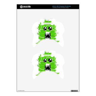 Green Monster Baby Apparel Xbox 360 Controller Skins