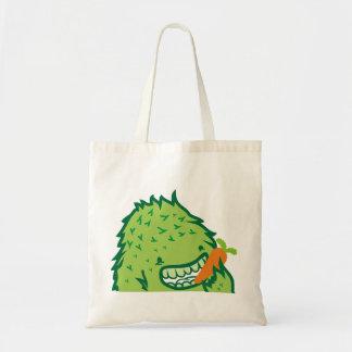 Green Monster Canvas Bag