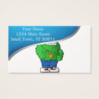 green monster business card