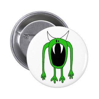 Green Monster Button