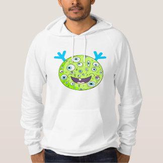 Green monster by ilya konyukhov hoodie