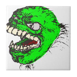 Green monster ceramic tile