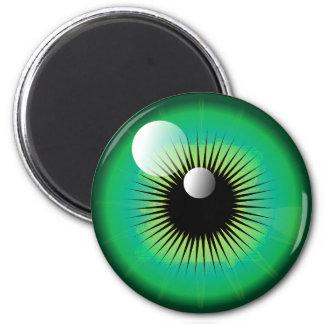 Green Monster Eye Magnet