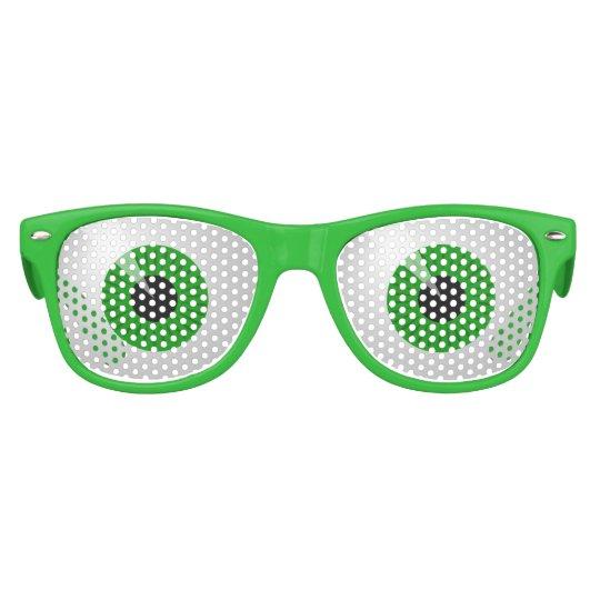 d91d6bf079b3 Green Monster Eyes Halloween Wayfarer Party Shades