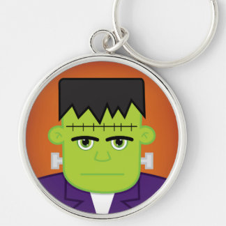 Green monster keychain