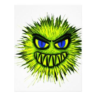 Green Monster Letterhead