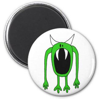 Green Monster Magnet