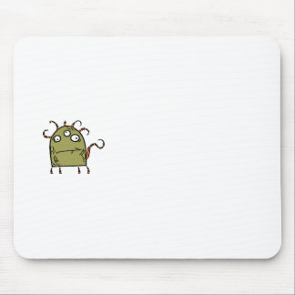 green monster mouse pads