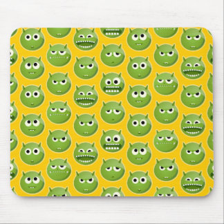 Green Monster Mouse Pad