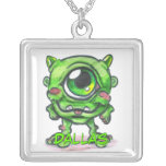 Green Monster Necklace