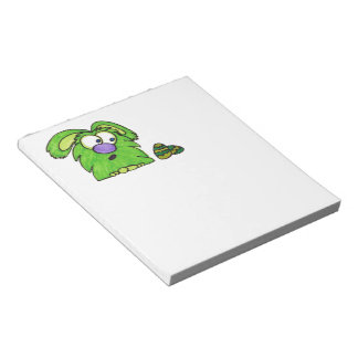 Green monster notepad