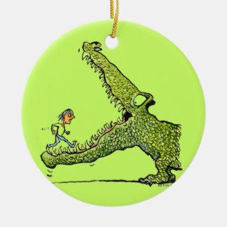 Green Monster Ornament