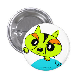 Green Monster Pet Button