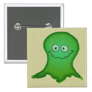 Green Monster Pinback Button