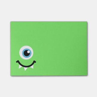 Green monster post-it® notes