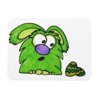 Green monster rectangular photo magnet