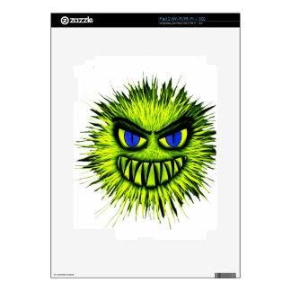 Green Monster Skins For iPad 2