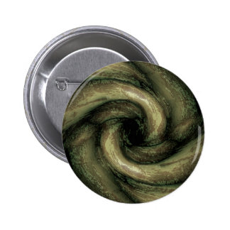 Green monster tentacles 2 inch round button