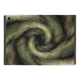 Green monster tentacles iPad case